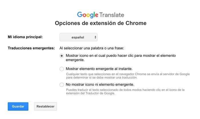 Google trabaja constantemente en diversas extensiones que buscan facilitar aún más el trabajo de traducción (Foto: Google Traductor)