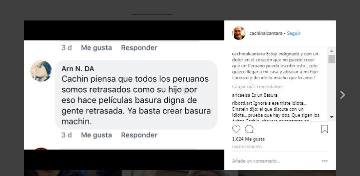 Carlos Alcántara no puede creer que