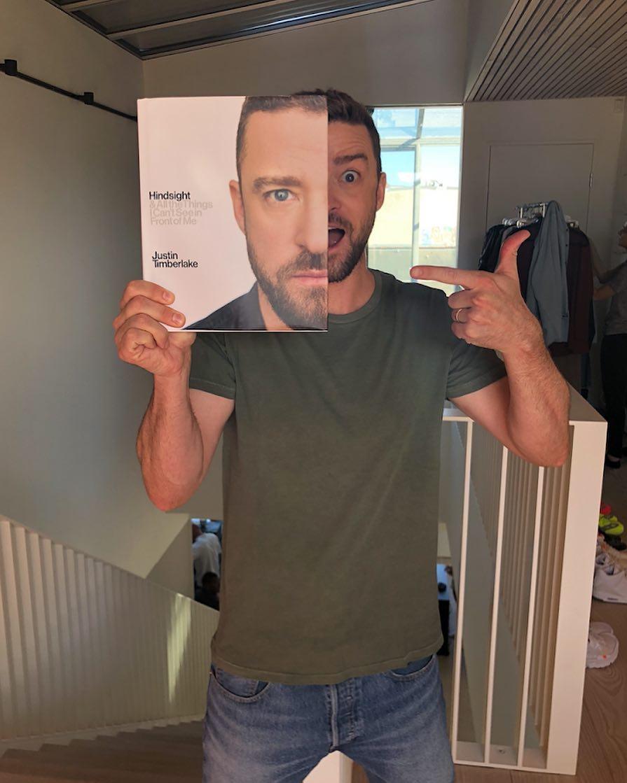 Justin Timberlake en Instagram.