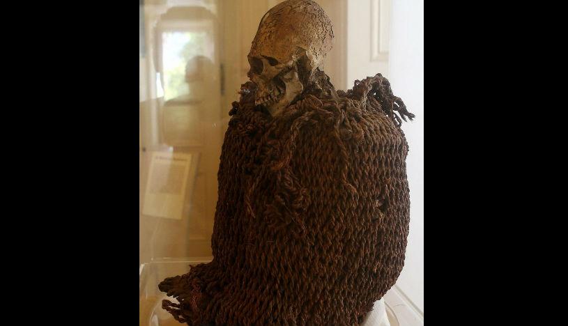 Momia aymara que se encontraba en el Museo Nacional de Río de Janeiro. | Foto: EFE