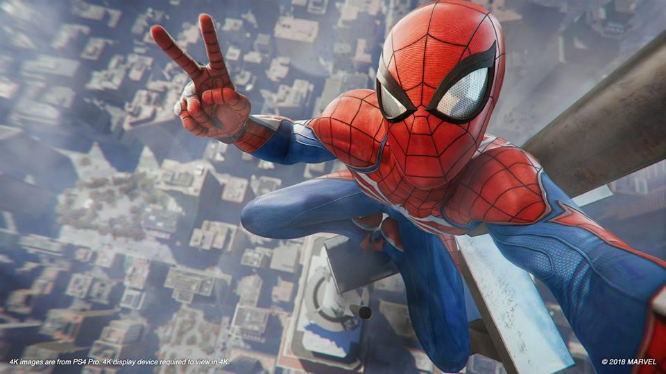 El 'modo selfie' es una de las cosas especiales que tiene este Marvel's Spider-Man. (Foto: Insomniac)