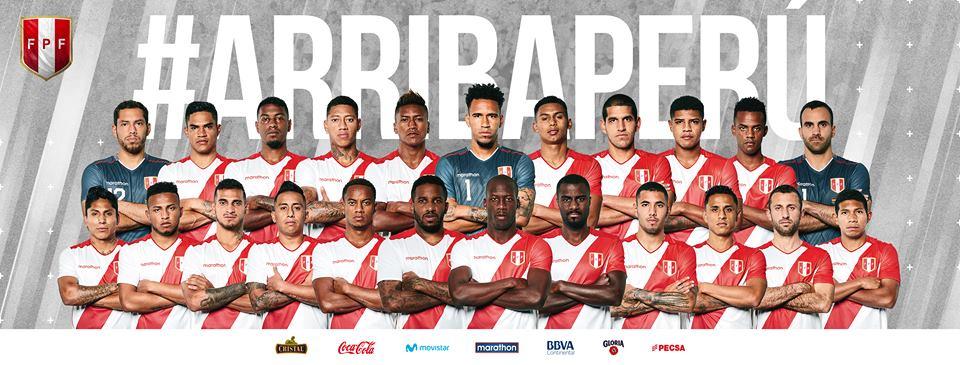 Así lucen los jugadores de la Selección Peruana con la nueva camiseta. (Foto: Selección Peruana)