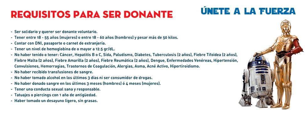Estos son los requisitos para poder donar sangre. (Facebook)