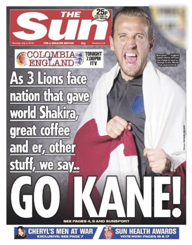 La primera portada polémica de The Sun.