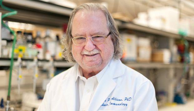 James P. Allison del MD Anderson Cancer Center en la Universidad de Texas. (Foto: Reuters)
