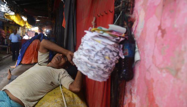 Los derrumbes, incendios y otros accidentes industriales son frecuentes en la India. (Foto referencial: AFP)