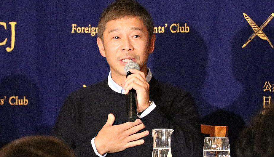 Yusaku Maezawa,turista espacial, Luna
