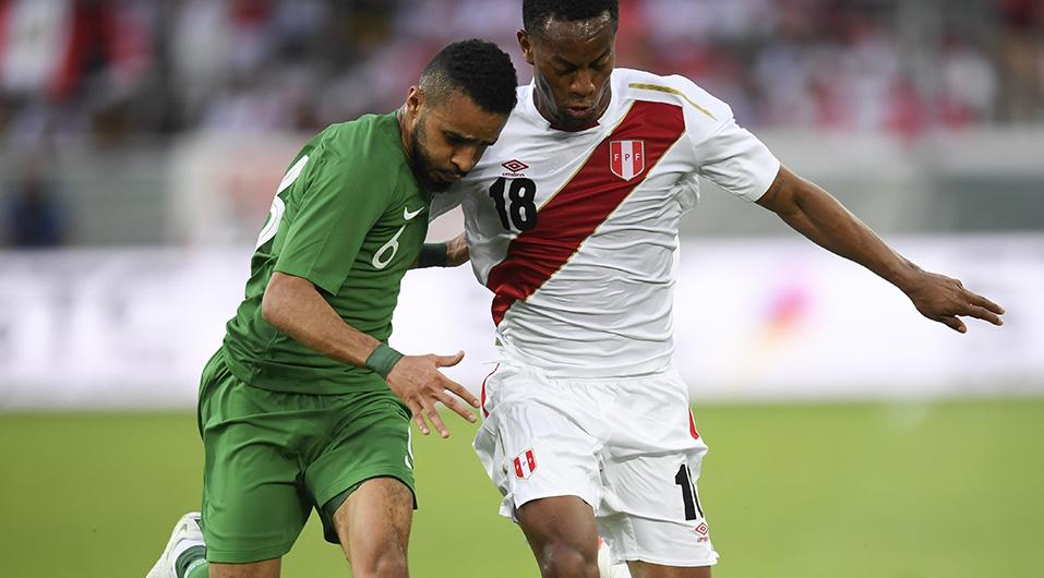 Selección Peruana goleó 3-0 a Arabia Saudita en su preparación al Mundial Rusia 2018. (Foto: EFE)