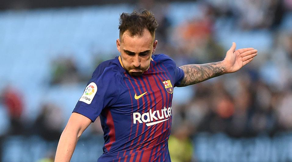 Paco Alcácer vivió un calvario en el Barcelona por su poca continuidad. (Foto: AFP)