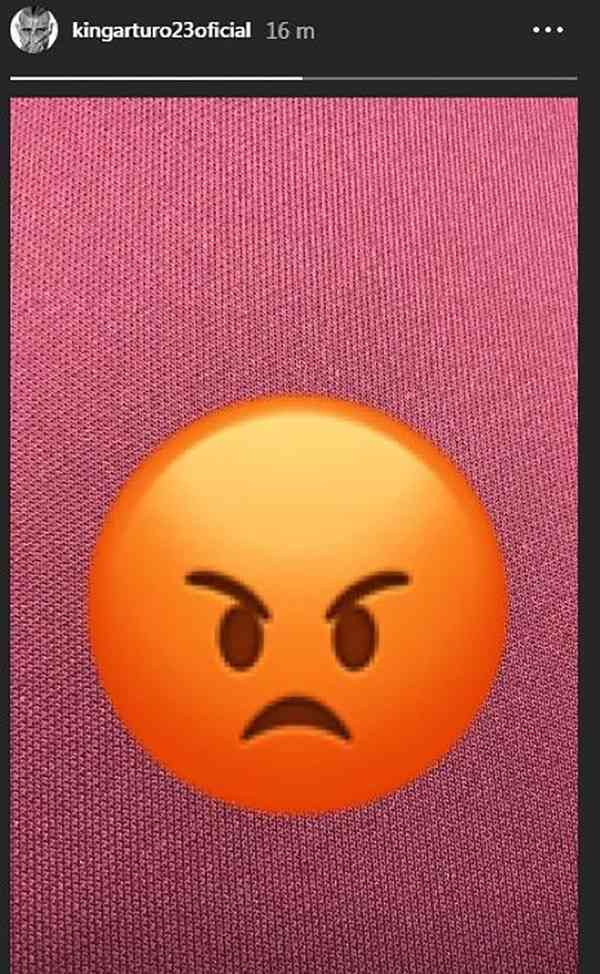 La suplencia en Barcelona provocó otra reacción de Arturo Vidal (Foto: Captura de Instagram).
