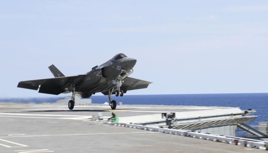 F-35B. (Foto: US Navy)