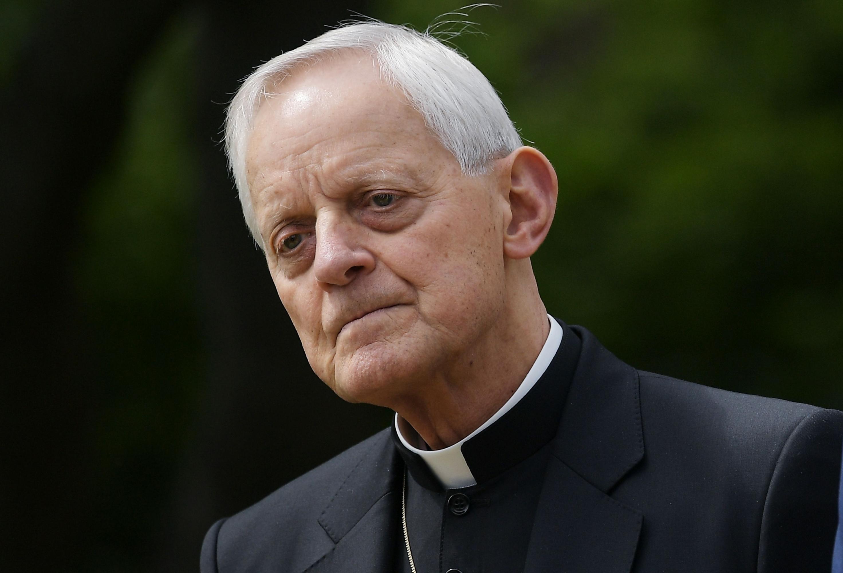 Arzobispo de Washington, Donald Wuerl   Foto: AFP