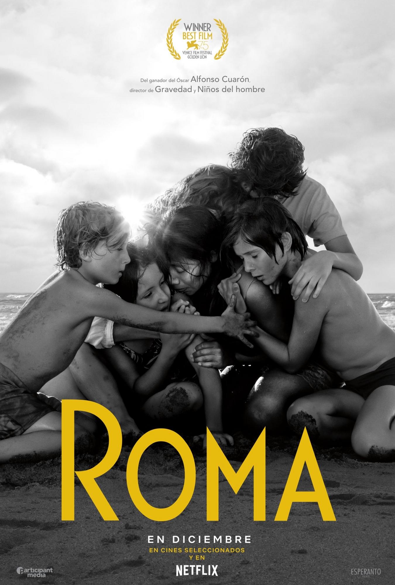 """Netflix lanzó el primer póster oficial de """"Roma"""", la película de Alfonso Cuarón. (Foto: Netflix)"""