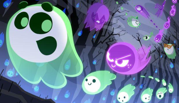 El doodle invita a jugadores de todo el mundo a convertirse en fantasmas y recolectar la mayor cantidad de almas posibles. (Foto: Google)