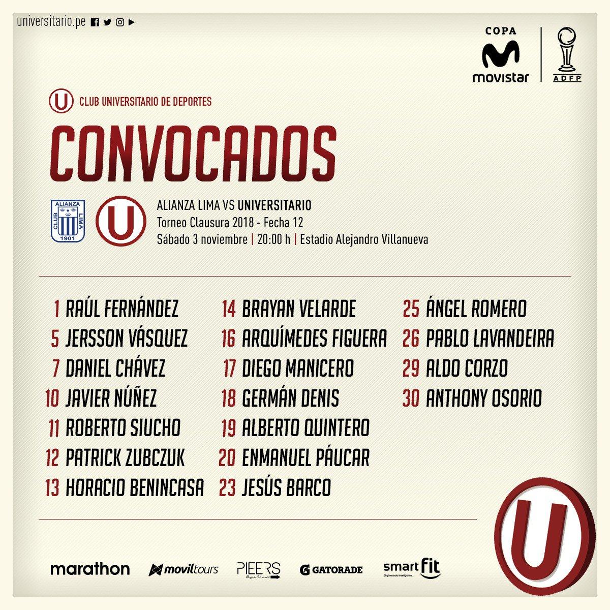 Alianza Lima vs. Universitario de Deportes: Otra vez, Juan Manuel Vargas no fue convocado por Nicolás Córdova. (USI)