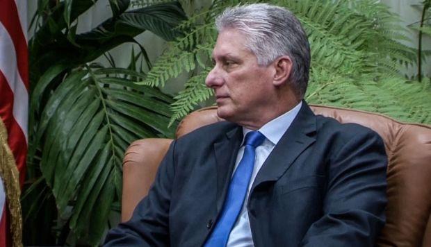 El presidente de Cuba, Miguel Díaz-Canel, está de visita en Corea del Norte en el marco de una gira internacional. (Foto: AFP)