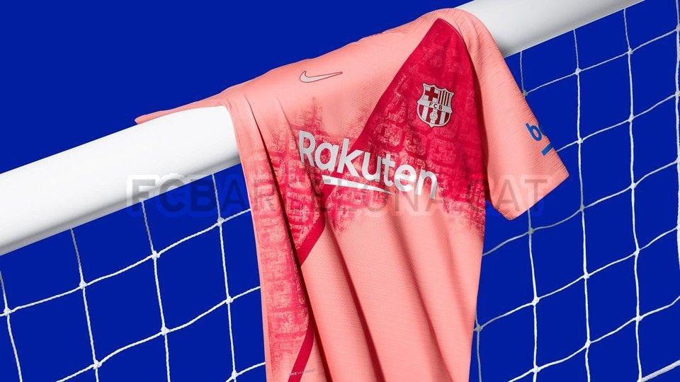La nueva camiseta del FC Barcelona. (Foto: FC Barcelona)