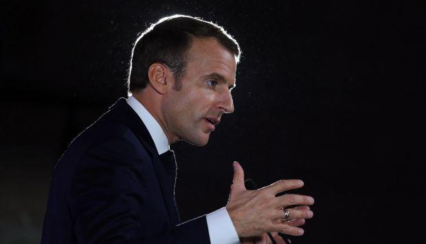 El presidente francés hizo notar que desde que gobierna se ha avanzado en algunas iniciativas europeas. (Foto: EFE)
