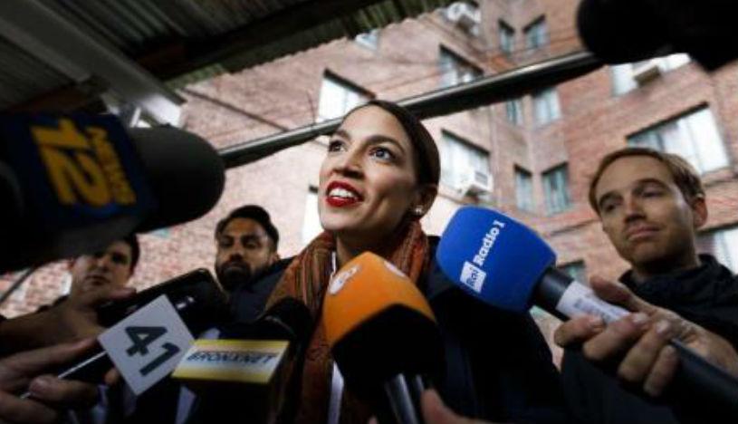 Alexandria Ocasio-Cortez, la congresista más joven en la historia de EE.UU. | Foto: EFE