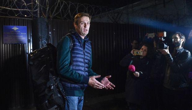 Navalny viaja a Estrasburgo, la ciudad del este de Francia donde tiene su sede el Tribunal Europeo de Derechos Humanos. (Foto: AFP)
