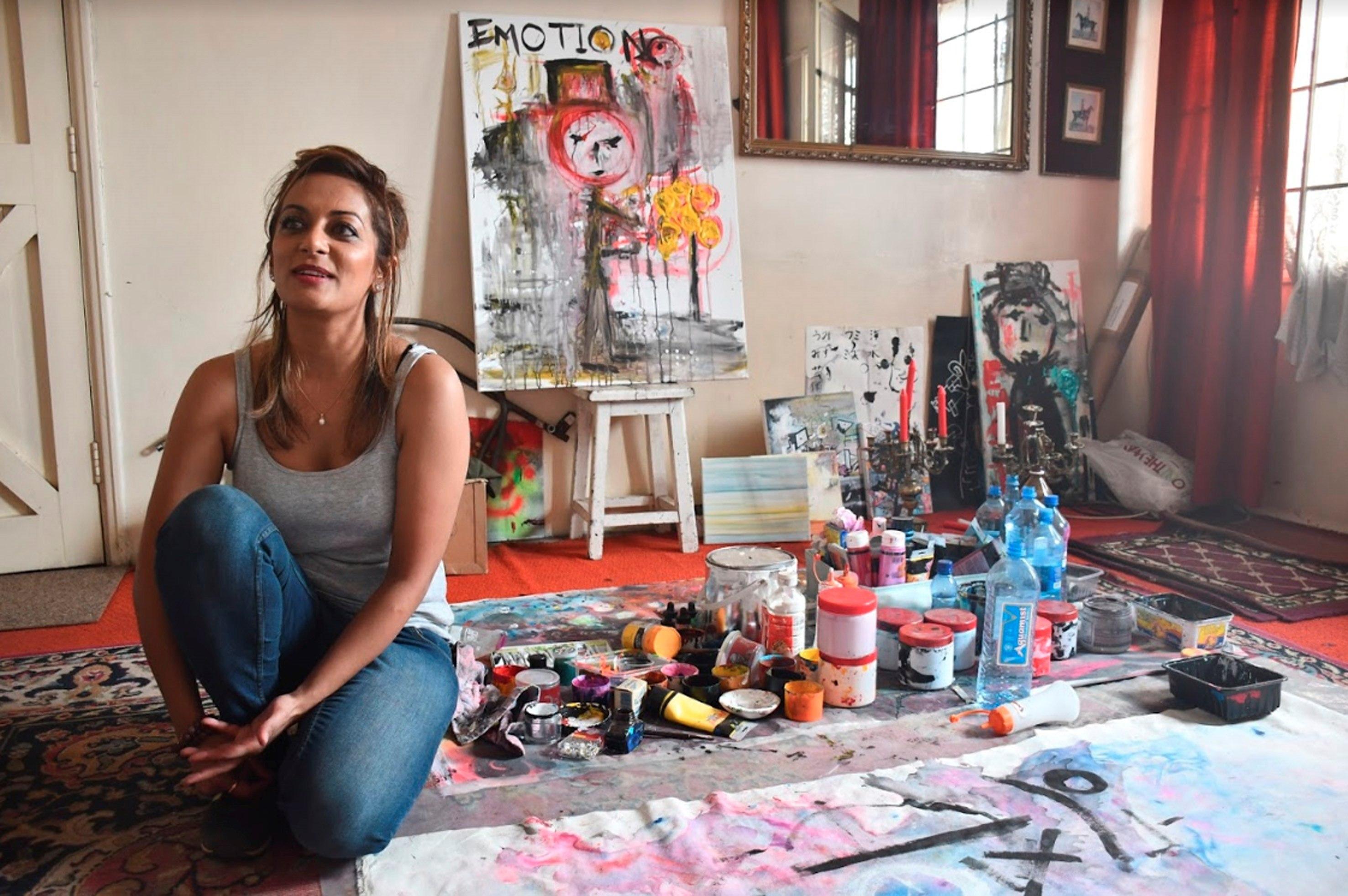 Hacer obras inclusivases la obsesión de Tina Benawra.(Edurne Morillo / EFE)