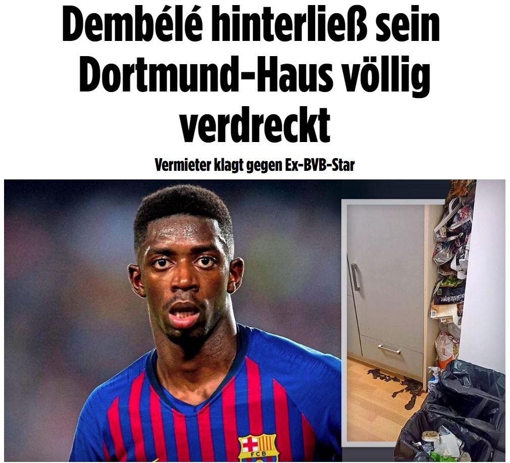 El francés Ousmane Dembélé afronta una nueva acusación. (Bild)