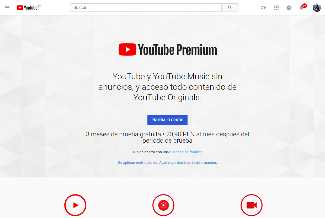 YouTube Music ha llegado para competir con Spotify