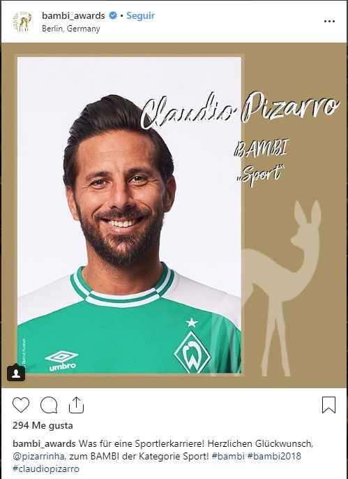 Claudio Pizarro.