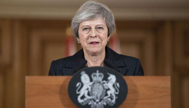 La semana pasada, May afrontó una crisis con la dimisión de varios miembros de su Gobierno, entre ellos Dominic Raab,. (Foto: EFE)