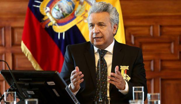 Lenín Moreno llegó al poder en mayo de 2017 y desde entonces ha reemplazado o renunciaron voluntariamente más del 60 por ciento de sus ministros, secretarios nacionales y consejeros. (Foto: EFE)