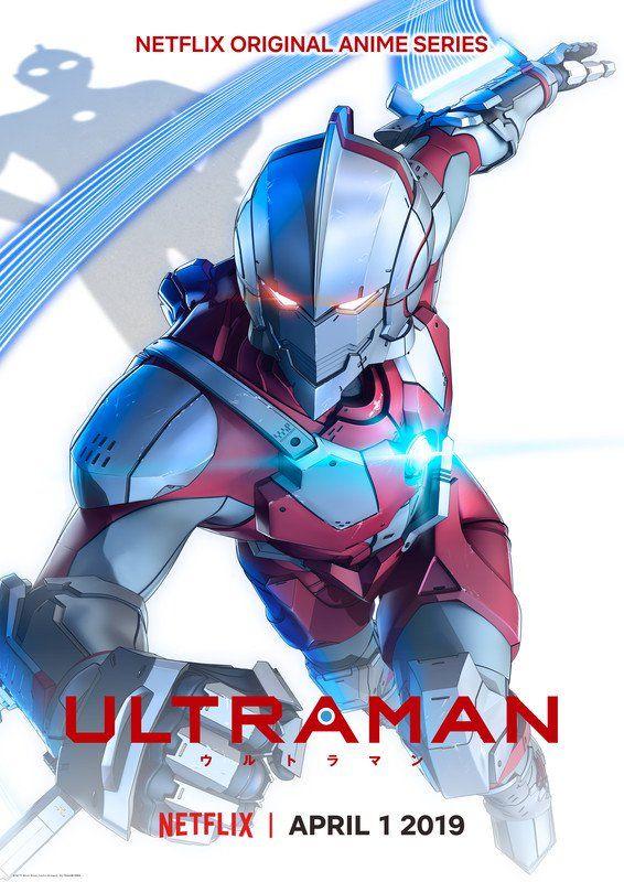 Este es el póster oficial de la nueva serie de Ultraman. (Foto: Netflix)