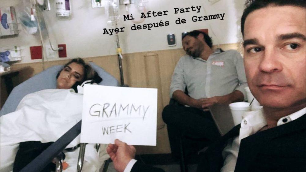 Karol G fue hospitalizada tras la ceremonia de los premios Latin Grammy (Foto: Instagram)