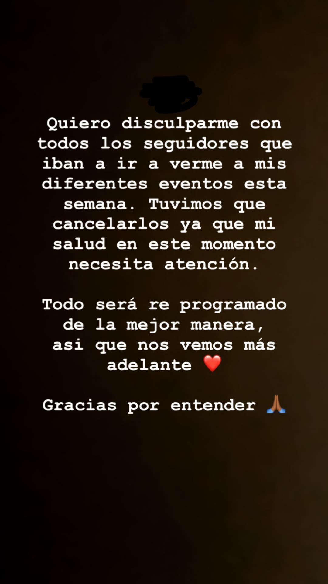 Karol G cancela conciertos (Foto: Instagram)