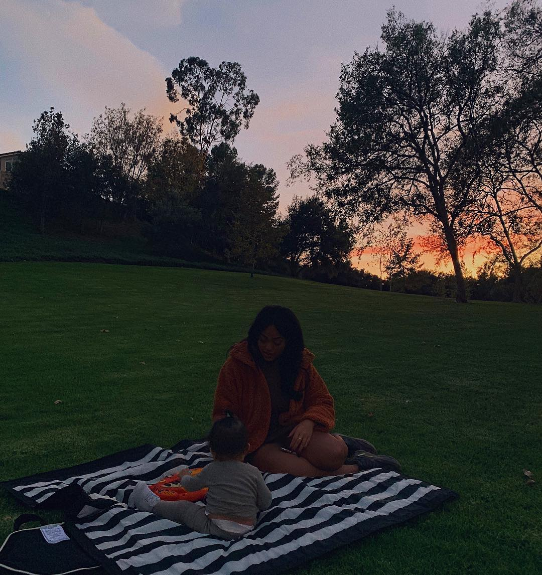 Kylie Jenner enternece a las redes sociales. (Foto: Instagram)