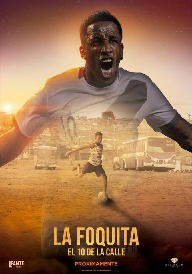 Este es el póster oficial de la película biográfica del futbolista Jefferson Farfán. (Foto: Lfante Films)