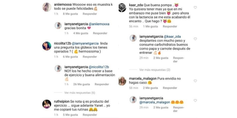 Así respondió Yanet García a las seguidoras que le pidieron recomendaciones para lucir como ella. (Foto: Instagram)