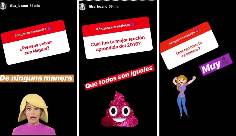 Tilsa Lozano revela que no regresará con Miguel Hidalgo (Foto: Captura de Instagram)