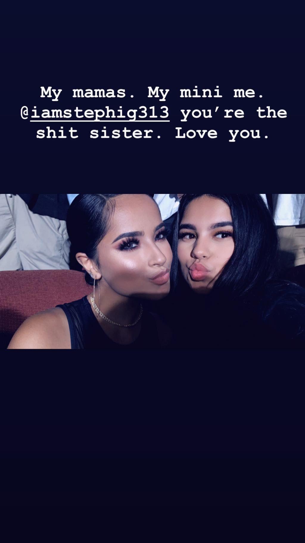 La cantante compartió un conmovedor mensaje a su hermana. (Foto: Instagram)