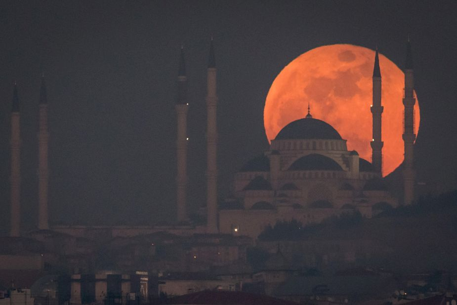 Súper Luna Azul. (Foto: Getty Images)