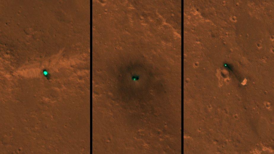 Lugar de aterrizaje de InSight. (Foto: NASA)