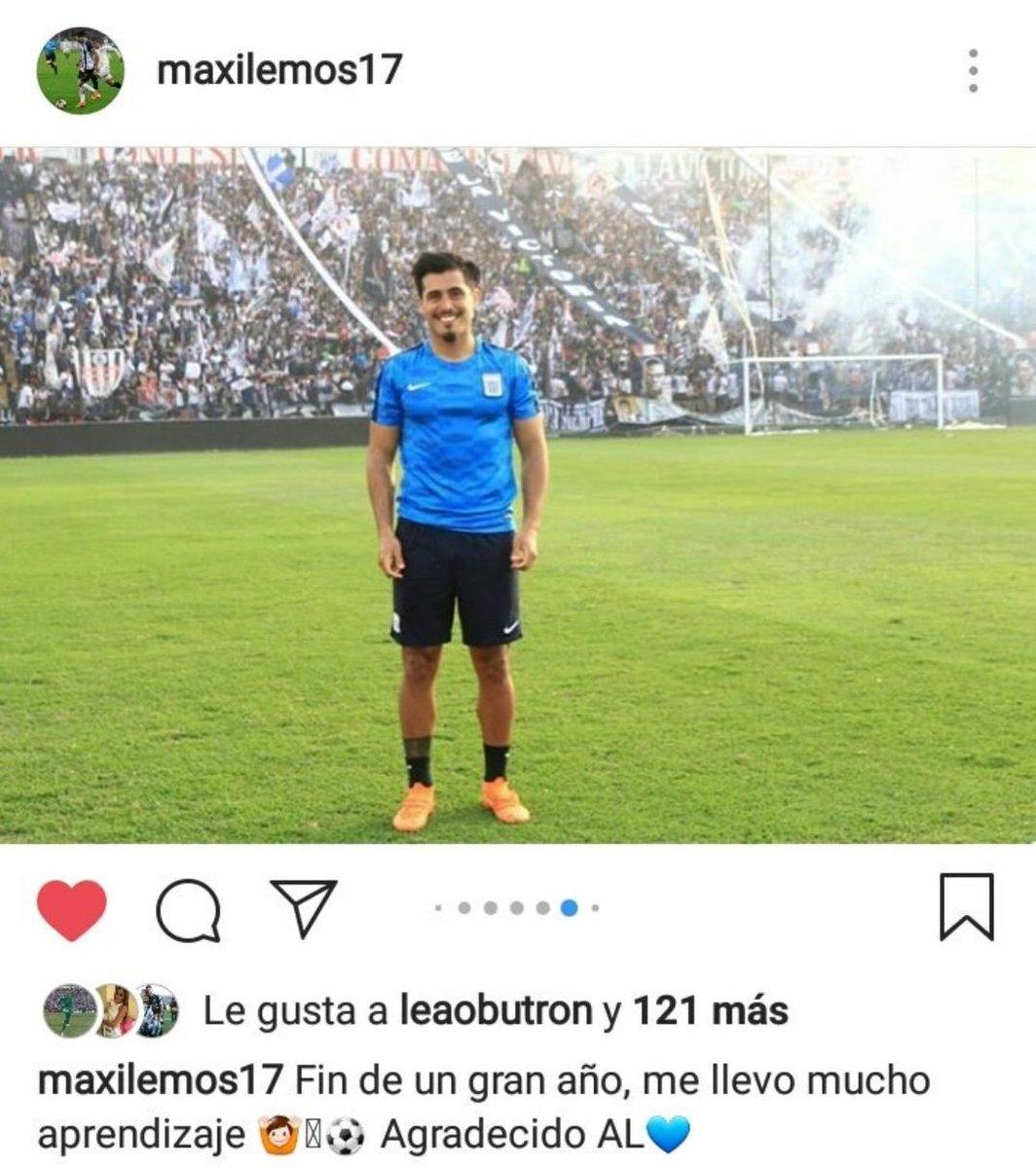 Maximiliano Lemos anotó tres goles con Alianza Lima. (Foto GEC)