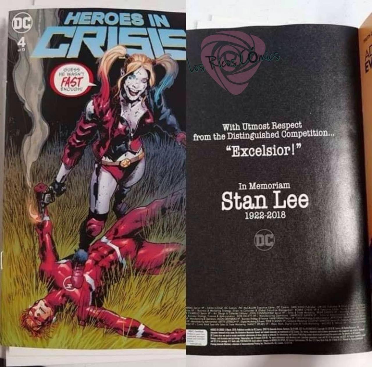 DC Comics rinde homenaje a Stan Lee. (Foto: DC Comics)