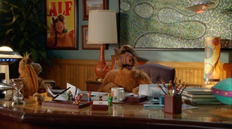 El extraterrestre ALF reapareció en la televisión con un cameo en