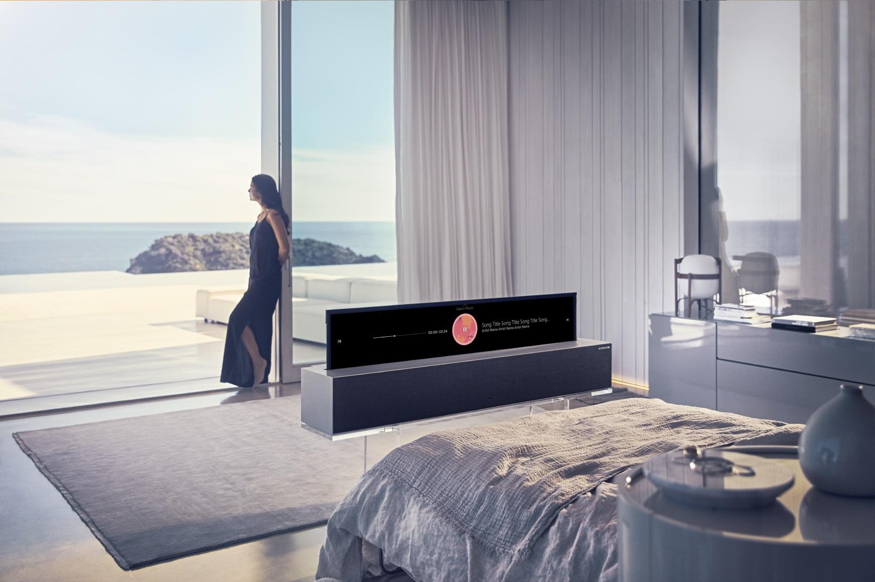 LG OLED TV R Line. (Foto: LG).