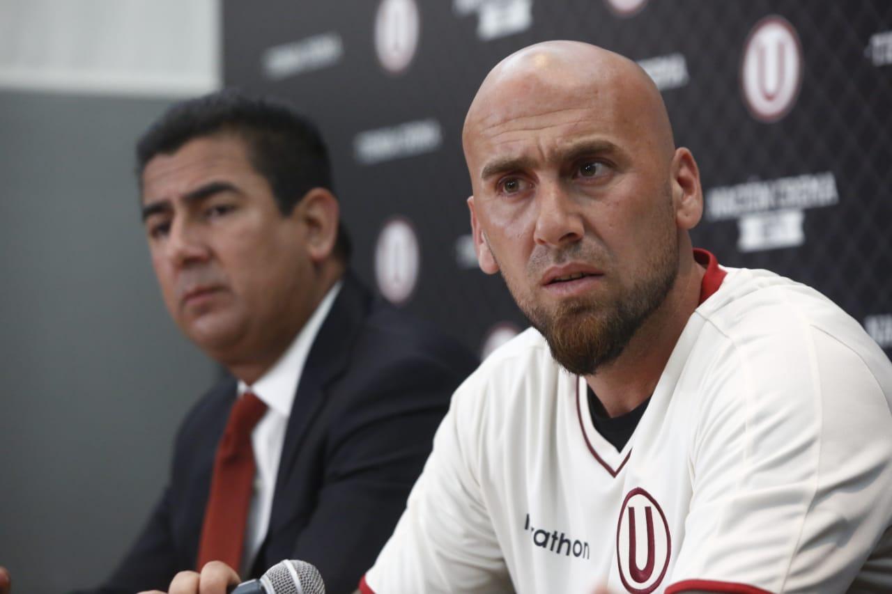 Guillermo Rodríguez aseguró que está en un buen momento de su carrera y que apunta a cumplir los objetivos de Universitario en la temporada. (Foto: Piko Tamashiro/GEC)
