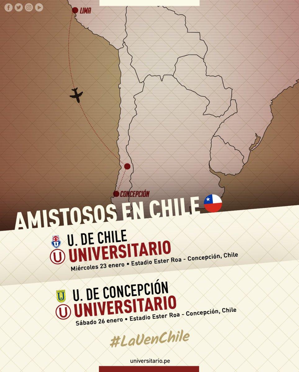 Así anunció Universitario de Deportes sus próximos amistosos. (Foto: Universitario de Deportes)