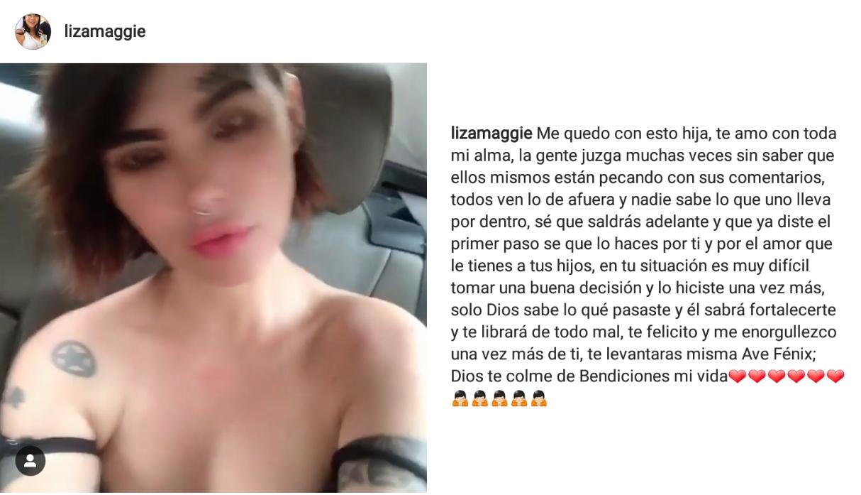 Mamá de Angie Jibaja le dedica sentido mensaje (Foto: Instagram)