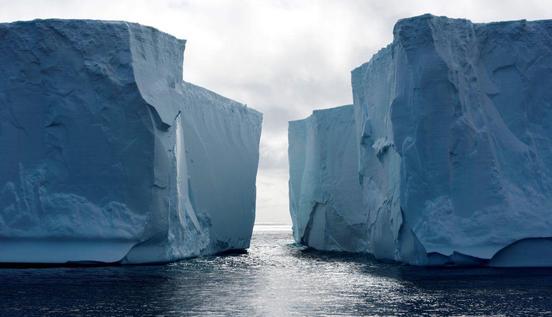 El impactante paisaje antártico. (Foto: EFE)