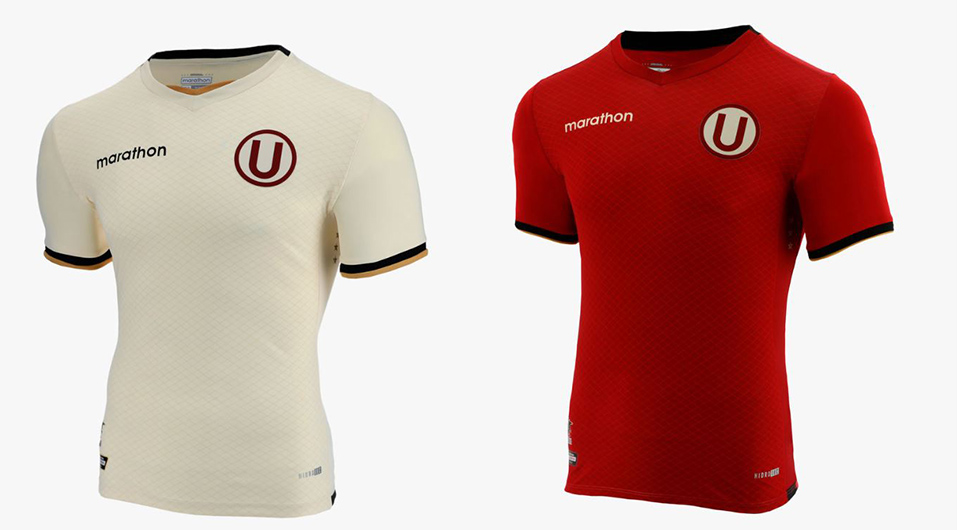 Universitario de Deportes y el diseño de sus camisetas para la temporada 2019. (Foto: Web Marathon)