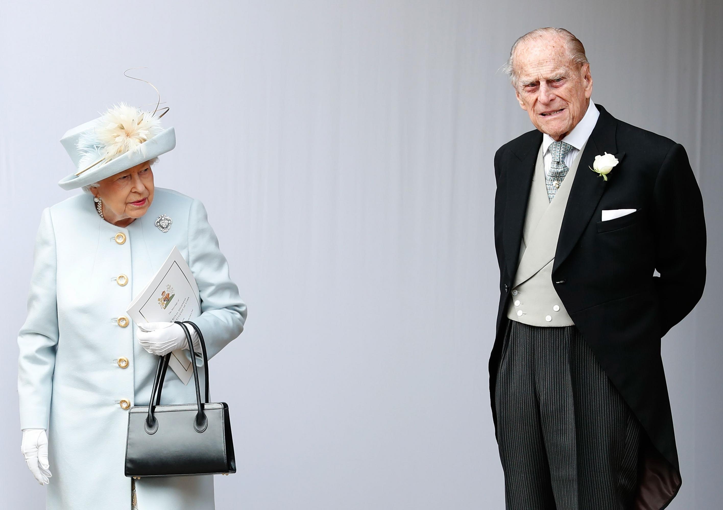Imagen de archivo de la reina británica Isabel II y el príncipe Felipe. (Foto: AFP)